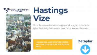 İngiltere Hastings Vize Başvurusu