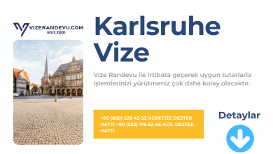 Almanya Karlsruhe Vize Başvurusu
