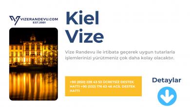 Almanya Kiel Vize Başvurusu
