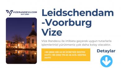 Hollanda Leidschendam-Voorburg Vize Başvurusu