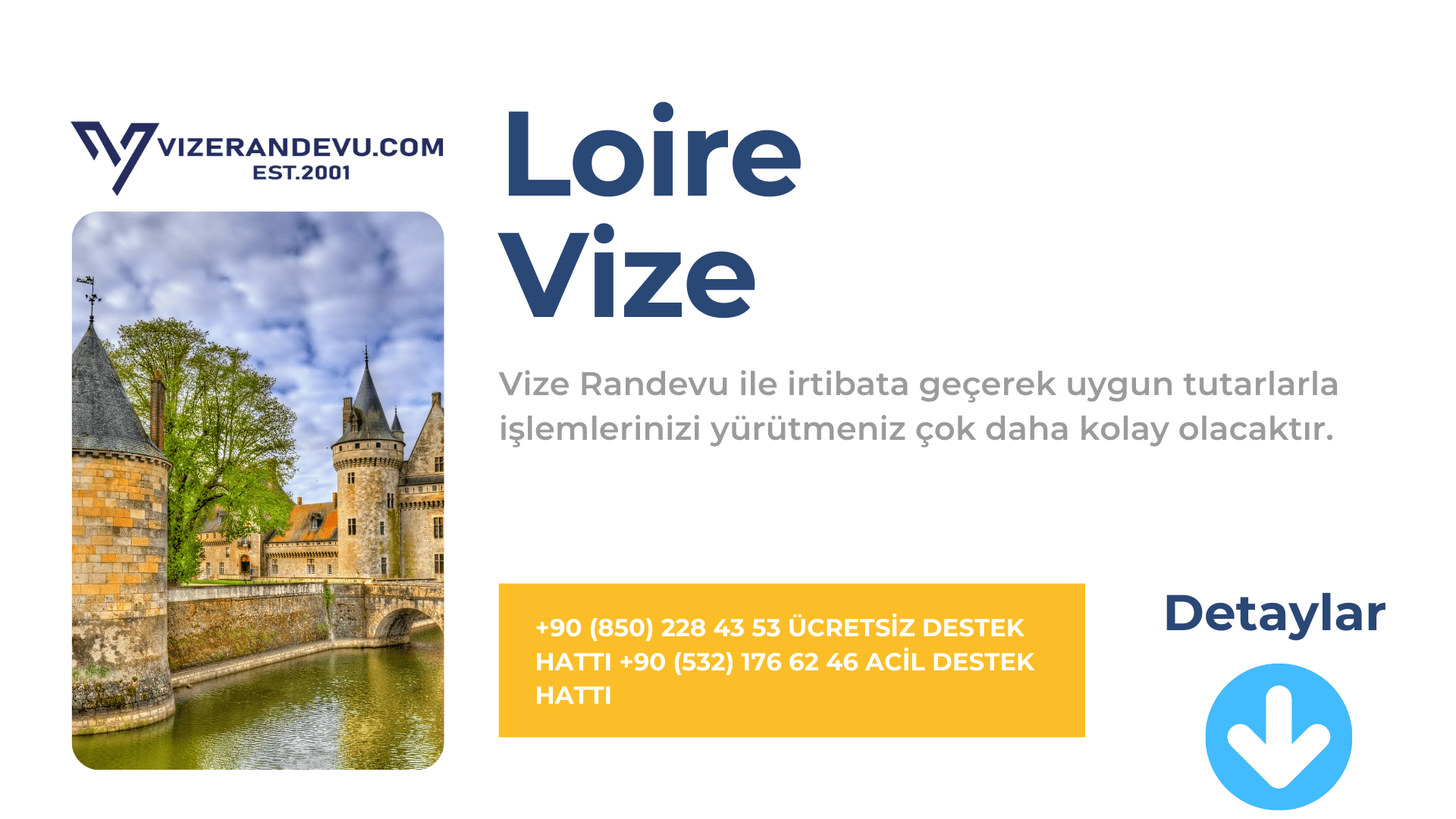 Fransa Loire Vize Başvurusu
