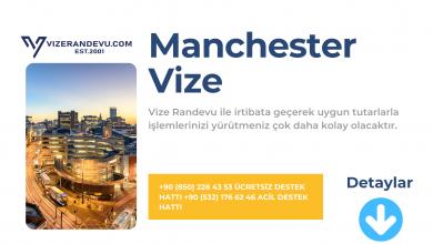 İngiltere Manchester Vize Başvurusu