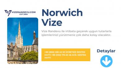 İngiltere Norwich Vize Başvurusu