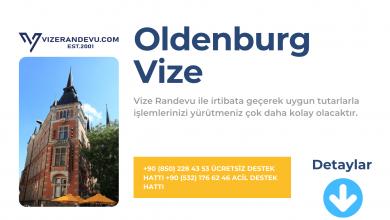 Almanya Oldenburg Vize Başvurusu