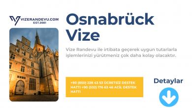 Almanya Osnabrück Vize Başvurusu