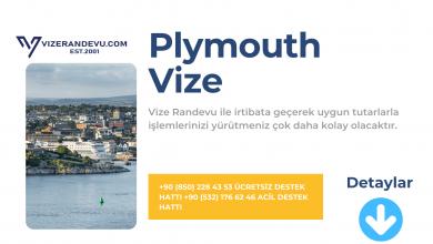İngiltere Plymouth Vize Başvurusu