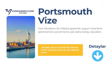 İngiltere Portsmouth Vize Başvurusu