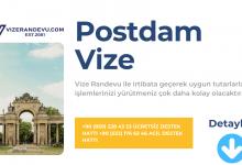 Almanya Postdam Vize Başvurusu