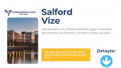 İngiltere Salford Vize Başvurusu