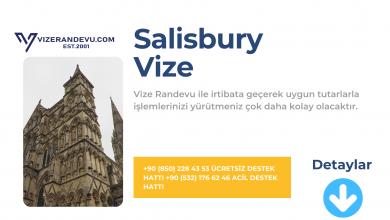 İngiltere Salisbury Vize Başvurusu
