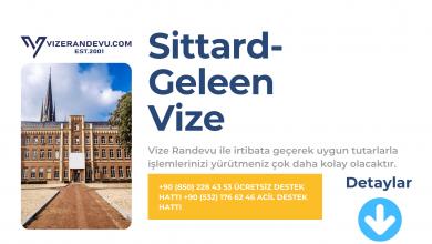 Hollanda Sittard- Gelenn Vize Başvurusu