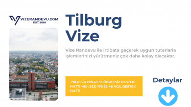 Hollanda Tilburg Vize Başvurusu