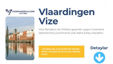 Hollanda Vlaardingen Vize Başvurusu