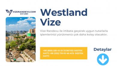 Hollanda Westland Vize Başvurusu