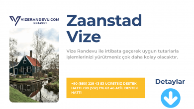 Hollanda Zaanstad Vize Başvurusu
