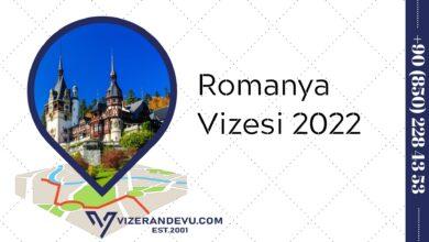 Romanya Vizesi 2022